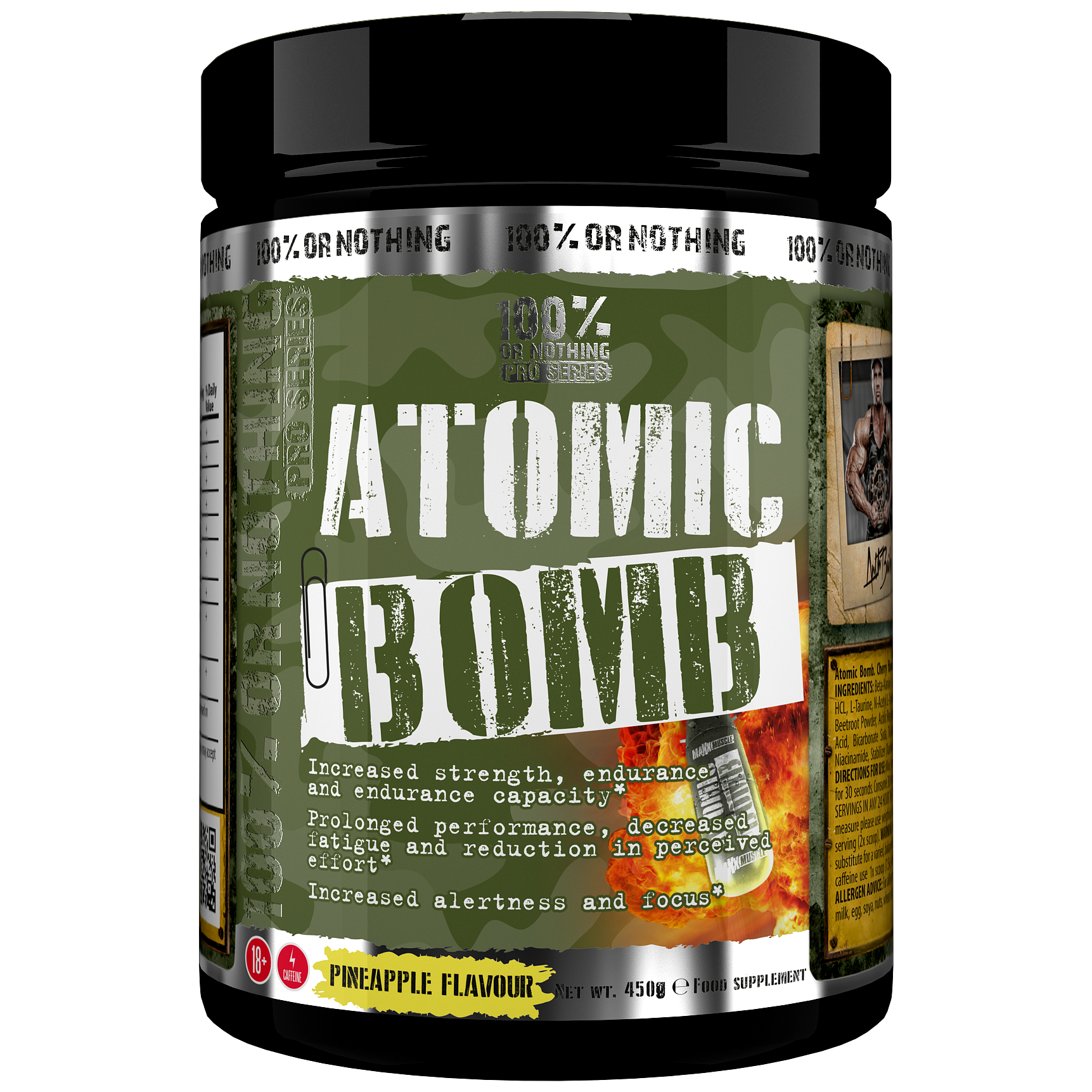 100% Or Nothing Pro Series ATOMIC BOMB